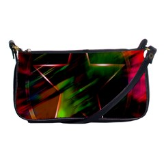 Colorful Background Star Shoulder Clutch Bags
