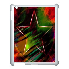 Colorful Background Star Apple Ipad 3/4 Case (white)