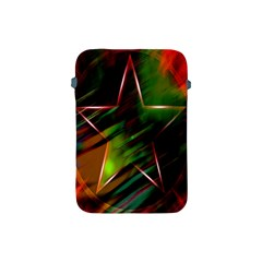 Colorful Background Star Apple iPad Mini Protective Soft Cases