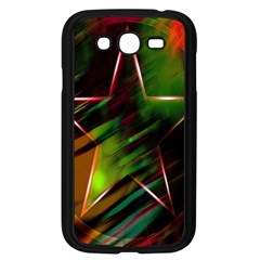 Colorful Background Star Samsung Galaxy Grand DUOS I9082 Case (Black)
