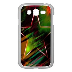 Colorful Background Star Samsung Galaxy Grand DUOS I9082 Case (White)