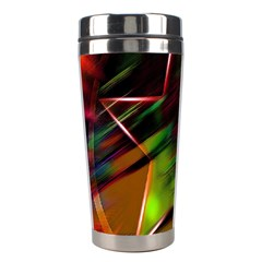 Colorful Background Star Stainless Steel Travel Tumblers