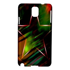 Colorful Background Star Samsung Galaxy Note 3 N9005 Hardshell Case