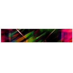 Colorful Background Star Flano Scarf (Large)