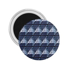 Snow Peak Abstract Blue Wallpaper 2 25  Magnets