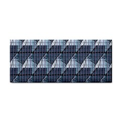 Snow Peak Abstract Blue Wallpaper Cosmetic Storage Cases