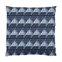 Snow Peak Abstract Blue Wallpaper Standard Cushion Case (two Sides)