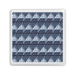 Snow Peak Abstract Blue Wallpaper Memory Card Reader (square)