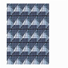 Snow Peak Abstract Blue Wallpaper Small Garden Flag (Two Sides)
