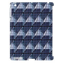 Snow Peak Abstract Blue Wallpaper Apple Ipad 3/4 Hardshell Case (compatible With Smart Cover)