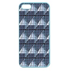 Snow Peak Abstract Blue Wallpaper Apple Seamless iPhone 5 Case (Color)