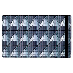 Snow Peak Abstract Blue Wallpaper Apple iPad 3/4 Flip Case