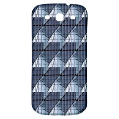Snow Peak Abstract Blue Wallpaper Samsung Galaxy S3 S III Classic Hardshell Back Case