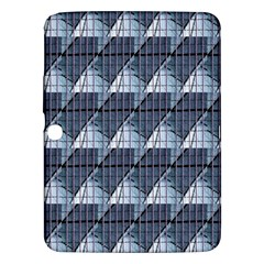 Snow Peak Abstract Blue Wallpaper Samsung Galaxy Tab 3 (10 1 ) P5200 Hardshell Case