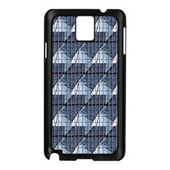 Snow Peak Abstract Blue Wallpaper Samsung Galaxy Note 3 N9005 Case (Black)