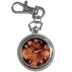 Abstract Brown Smoke Key Chain Watches