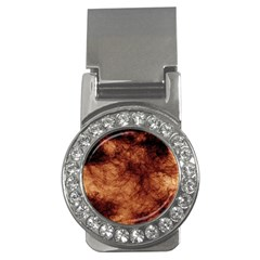 Abstract Brown Smoke Money Clips (CZ)