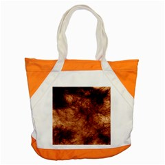 Abstract Brown Smoke Accent Tote Bag