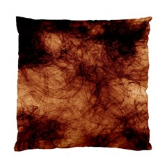 Abstract Brown Smoke Standard Cushion Case (One Side)