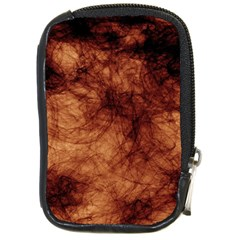 Abstract Brown Smoke Compact Camera Cases