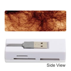 Abstract Brown Smoke Memory Card Reader (stick)
