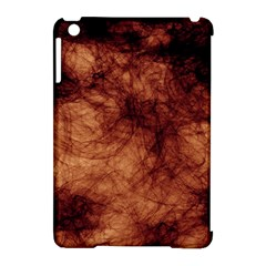 Abstract Brown Smoke Apple Ipad Mini Hardshell Case (compatible With Smart Cover)