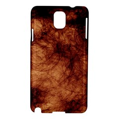 Abstract Brown Smoke Samsung Galaxy Note 3 N9005 Hardshell Case