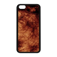 Abstract Brown Smoke Apple iPhone 5C Seamless Case (Black)
