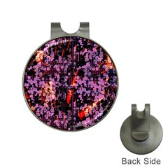 Abstract Painting Digital Graphic Art Hat Clips with Golf Markers