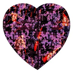 Abstract Painting Digital Graphic Art Jigsaw Puzzle (heart)