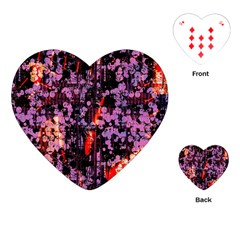 Abstract Painting Digital Graphic Art Playing Cards (Heart)
