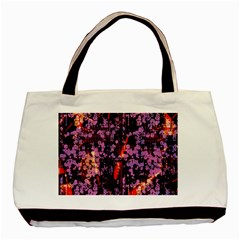 Abstract Painting Digital Graphic Art Basic Tote Bag