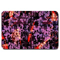 Abstract Painting Digital Graphic Art Large Doormat