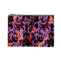 Abstract Painting Digital Graphic Art Cosmetic Bag (large)