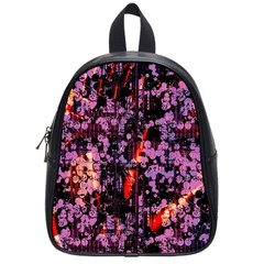 Abstract Painting Digital Graphic Art School Bags (Small)