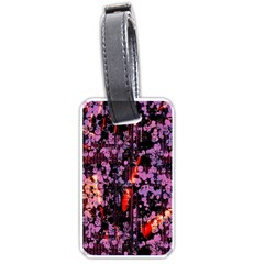 Abstract Painting Digital Graphic Art Luggage Tags (two Sides)