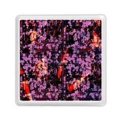 Abstract Painting Digital Graphic Art Memory Card Reader (square)