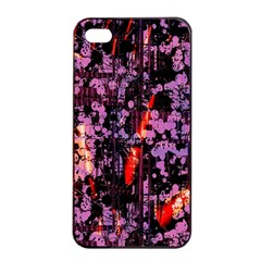 Abstract Painting Digital Graphic Art Apple Iphone 4/4s Seamless Case (black)