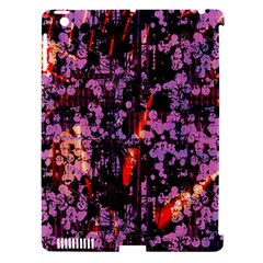Abstract Painting Digital Graphic Art Apple Ipad 3/4 Hardshell Case (compatible With Smart Cover)