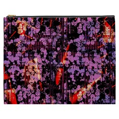 Abstract Painting Digital Graphic Art Cosmetic Bag (xxxl)