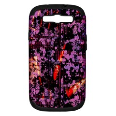 Abstract Painting Digital Graphic Art Samsung Galaxy S III Hardshell Case (PC+Silicone)