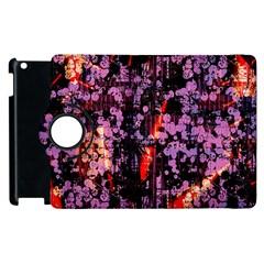 Abstract Painting Digital Graphic Art Apple Ipad 3/4 Flip 360 Case
