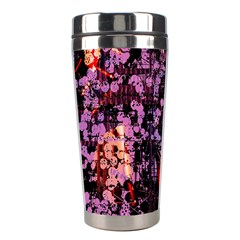 Abstract Painting Digital Graphic Art Stainless Steel Travel Tumblers