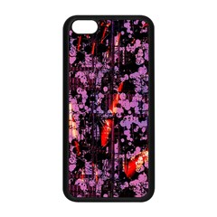 Abstract Painting Digital Graphic Art Apple iPhone 5C Seamless Case (Black)