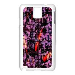 Abstract Painting Digital Graphic Art Samsung Galaxy Note 3 N9005 Case (White)
