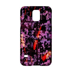 Abstract Painting Digital Graphic Art Samsung Galaxy S5 Hardshell Case