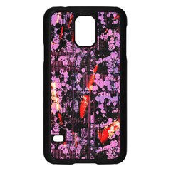 Abstract Painting Digital Graphic Art Samsung Galaxy S5 Case (Black)
