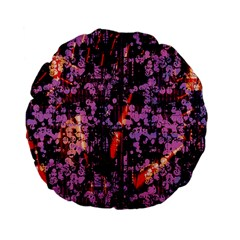 Abstract Painting Digital Graphic Art Standard 15  Premium Flano Round Cushions