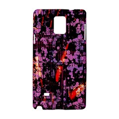 Abstract Painting Digital Graphic Art Samsung Galaxy Note 4 Hardshell Case