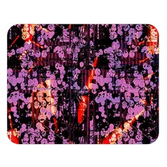 Abstract Painting Digital Graphic Art Double Sided Flano Blanket (large)